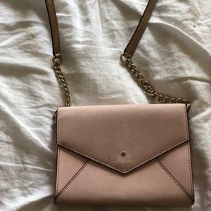 Kate Spade pink letter purse